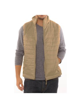 Men's Quilted Full Zipper Puffer Water Repellent Packable Vest Jacket Coat - NWT