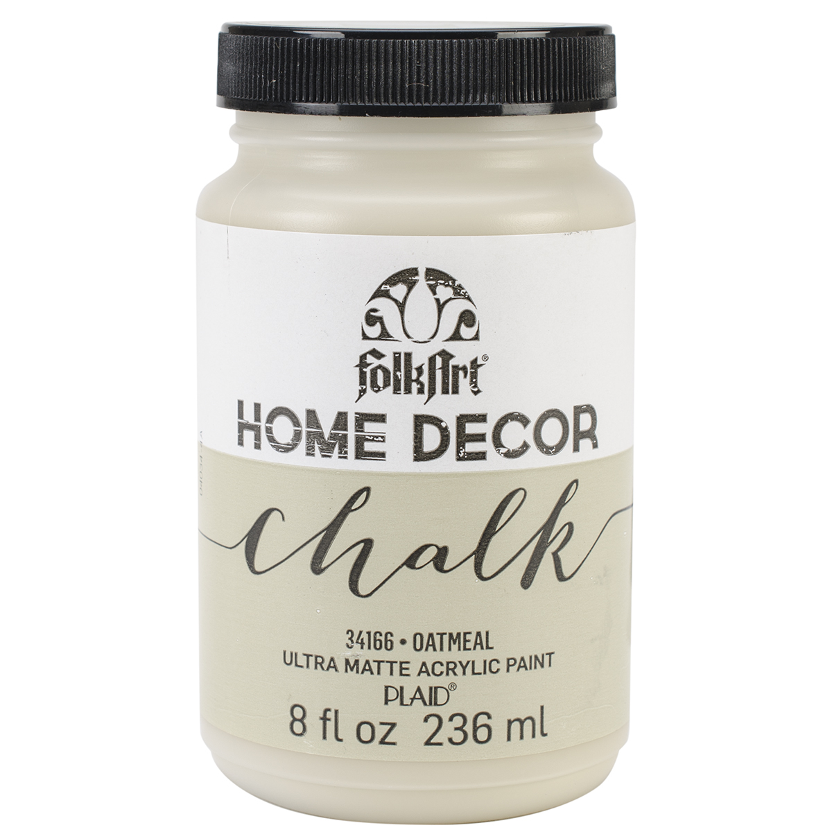 Folkart Home Decor Chalk Paint 8Oz-Oatmeal - Walmart.Com