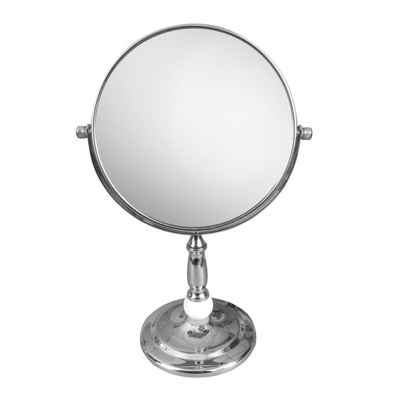 freestanding bath magnifying makeup mirror walmart 12912