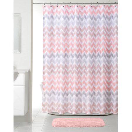 Broken Chevron Shower Curtain