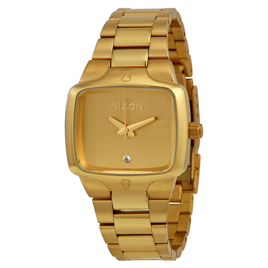 Nixon Small Player Gold-tone Ladies Watch A300511