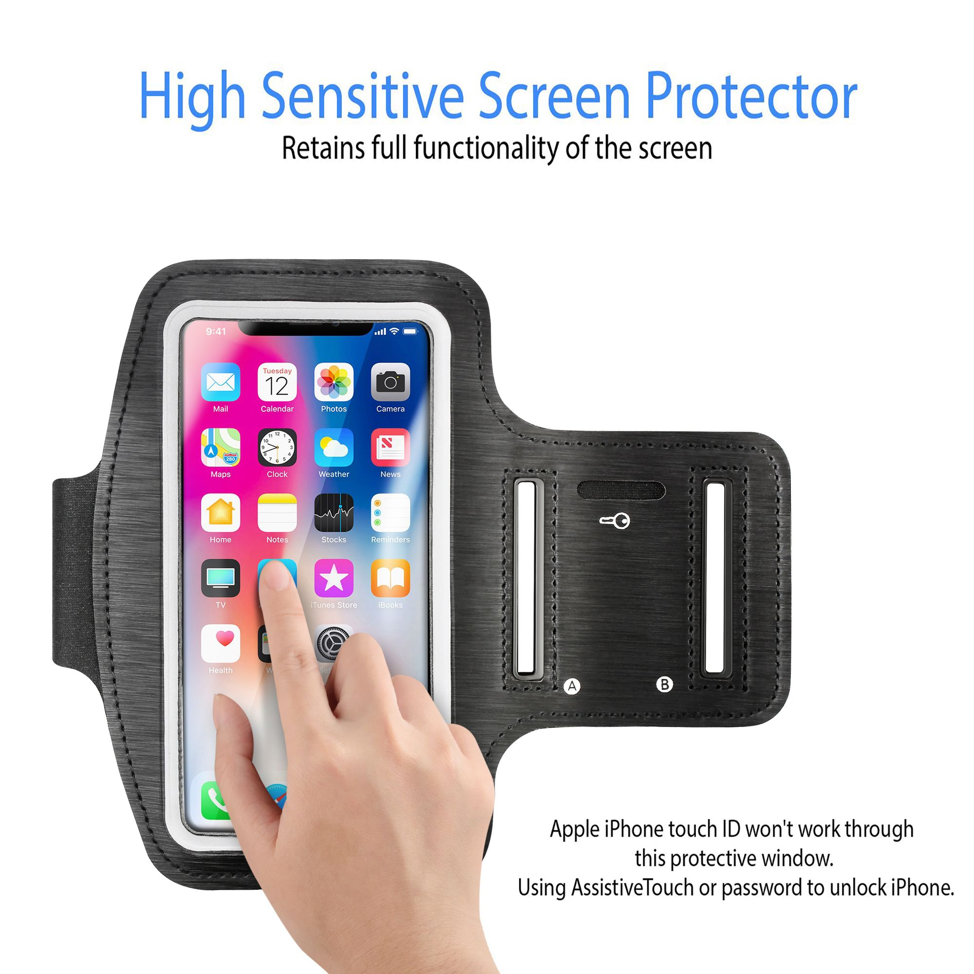 Apple Gym Running Jogging Sports Armband Holder For iPhone 6s