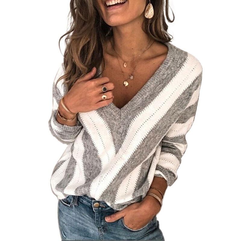 Custom Girls V-neck Sweater,V Neck Sweater,Teenager Long Sleeve V-Neck Pullovers Fashion Design Sweater