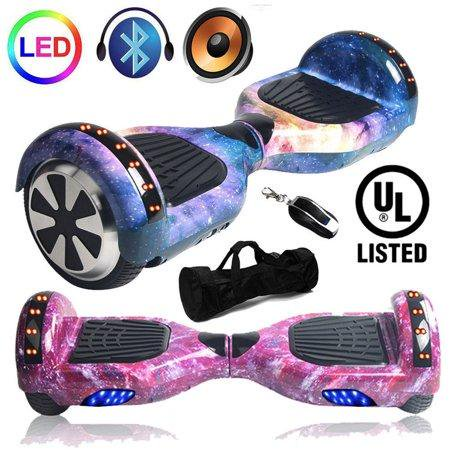 6 5 Inch Self Balancing Electric Scooter Bluetoo Th Led Skate Board