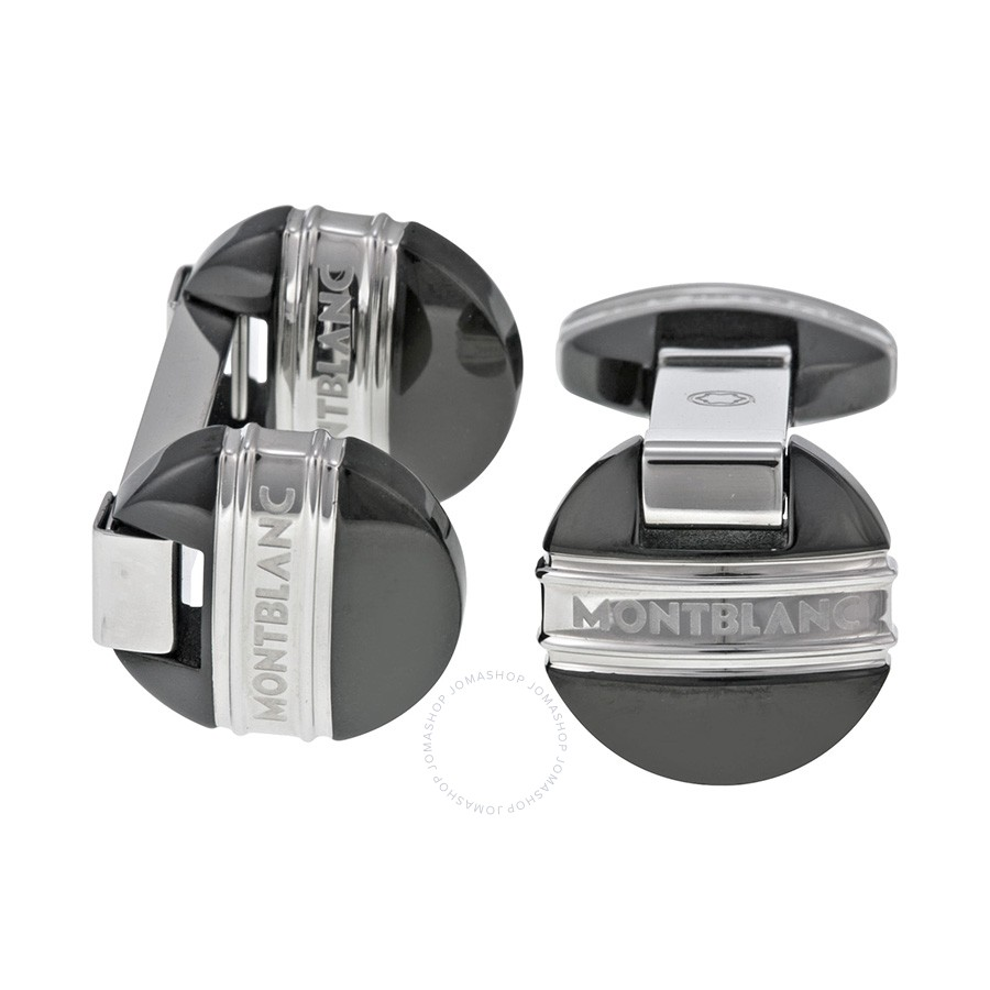Montblanc Young Meisterstuck Steel Cuff Links 105871