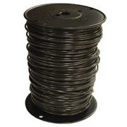 SOUTHWIRE 11595601 Building Wire,THHN,10 AWG,Black,500ft