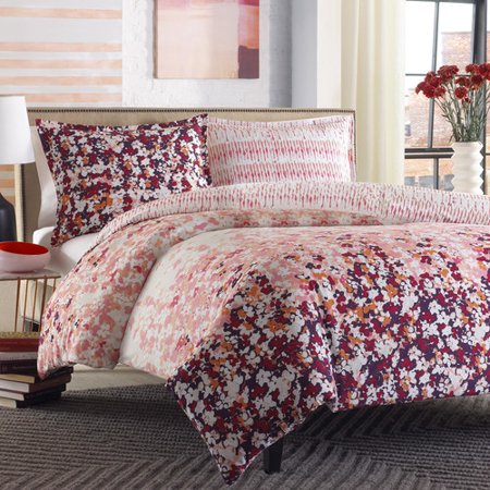 City Scene Forget Me Knot Duvet Cover Set