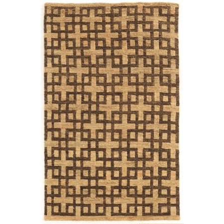 Linon Jute Soumak 5' x 8' hand knotted Rugs in Beige and -