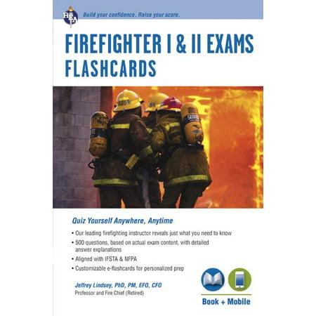 Firefighter I & II Exams Flashcard Book (Book +