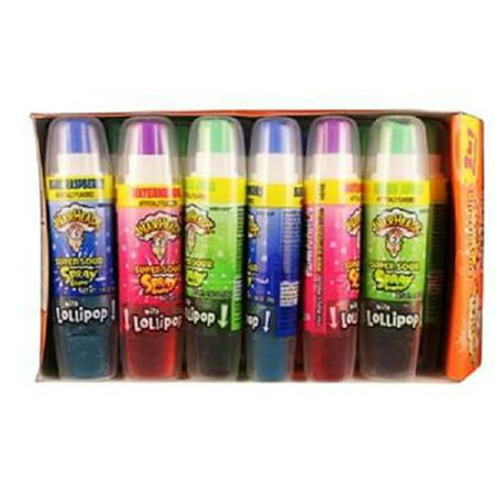 Product Of Warheads, Super Sour Spray , Count 12 - Sugar Candy / Grab Varieties & Flavors