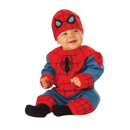 Marvel Classic Spiderman Infant Newborn Boys Jumpsuit Costume