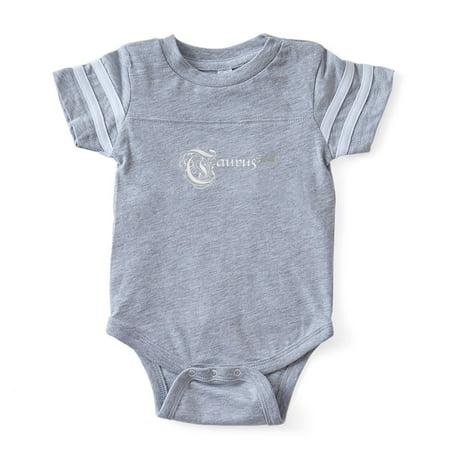 CafePress - Gothic Zodiac Taurus - Cute Infant Baby Football Bodysuit - Baby Gothic