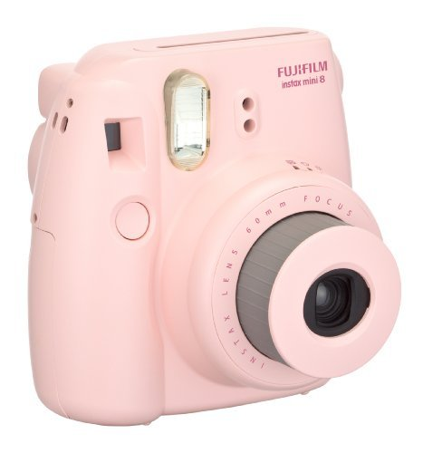 FujiFilm Pink 16273415 Instax Mini 8 Camera