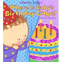 Where Is Babys Birthday Cake (Board Book)