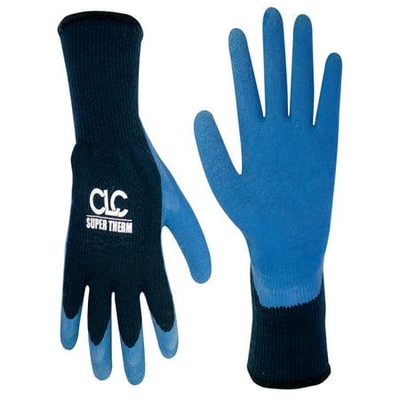 CLC Work Gear 2032L Large Super Therm Latex Dip Gripper Gloves (Super Gripper)