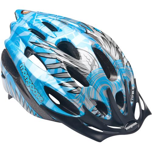 Mongoose Wings Boys' Bicycle Helmet, Blue, Child