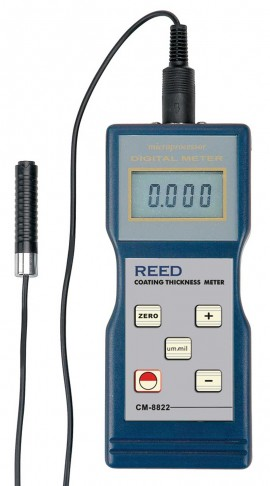 REED Instruments CM-8822 Coating Thickness Gauge, 1000?m by
