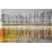Parvez Taj Sunset Lake Art Print on Premium Canvas