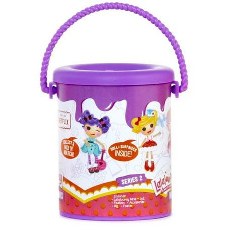 Lalaloopsy Lala Mini Mystery Paint Cans S2 Purple (Lala Loopsy)