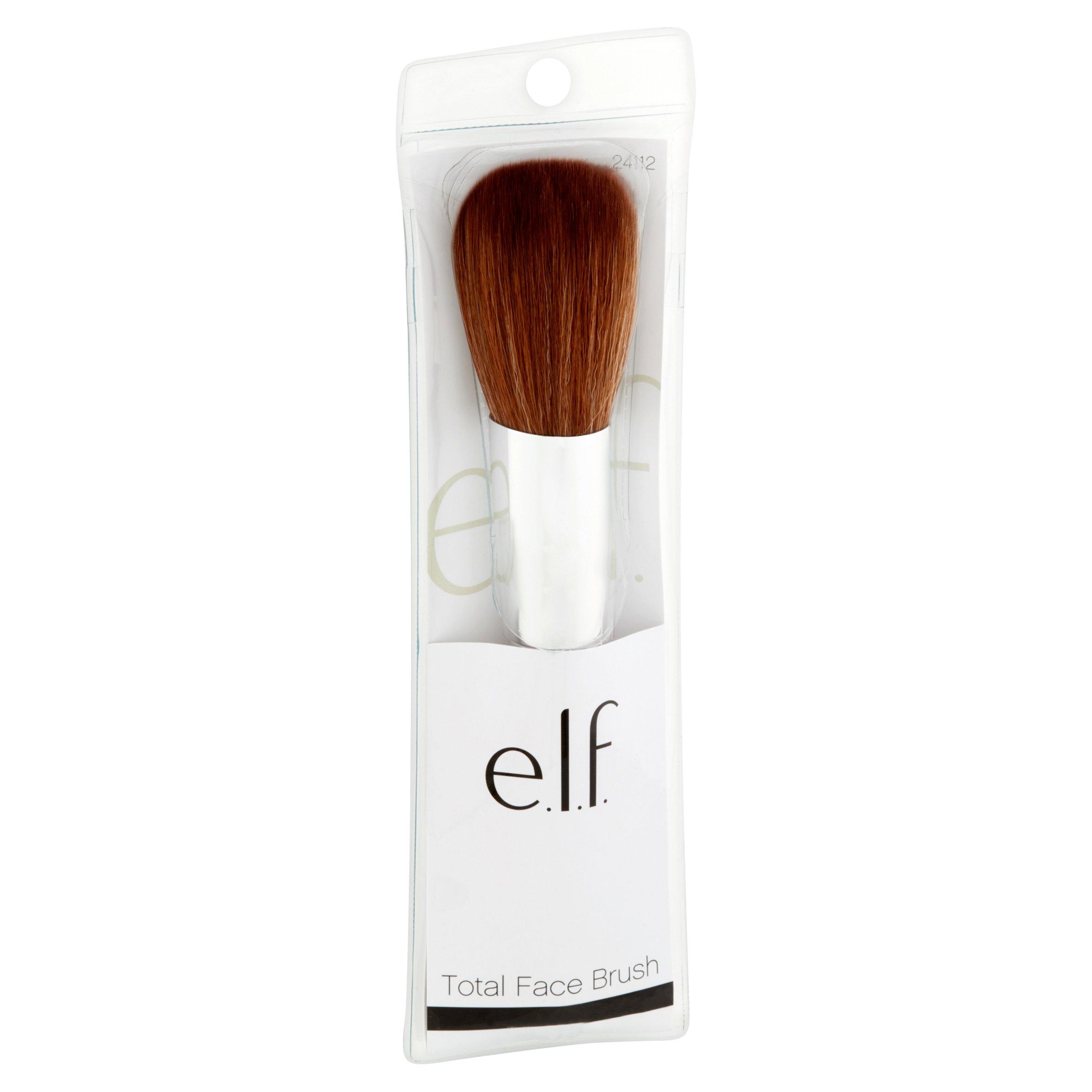 new products 0b08b 1de46 e.l.f. Professional Total Face Makeup Brush - Walmart.com
