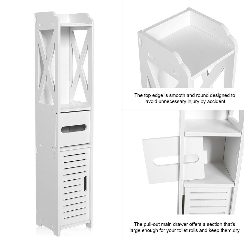 argent /étag/ère salle de bain WC Mobile Storage Rack ci-dessus le bain//buanderie//Machine /à laver Meuble salle de bain /étag/ères Organiseur en acier inoxydable argent