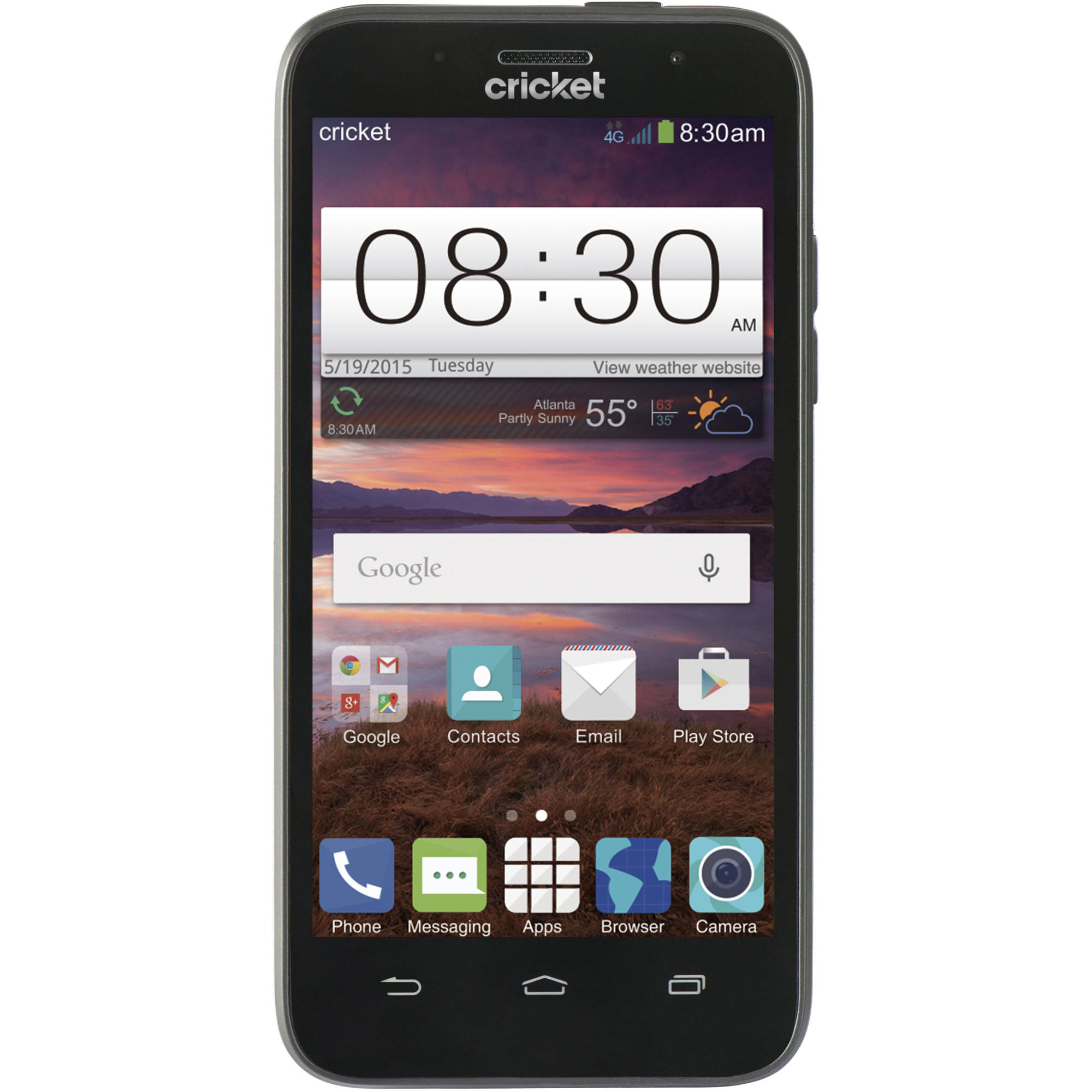 Cricket Wireless ZTE Prepaid Fanfare Smartphone