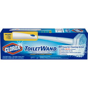 Clorox ToiletWand Disposable Toilet Cleaning System - ToiletWand, Storage Caddy and 6 Disinfecting ToiletWand Refill Heads (Packaging May Vary)