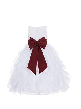 31fbeddf920e Red Girls Dresses   Rompers - Walmart.com