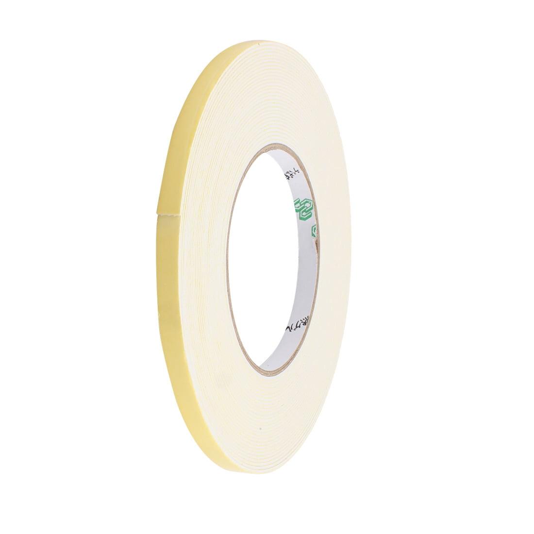 8mm Width 1mm Thickness EVA Single Side Sponge Foam Tape 10 Meters Length
