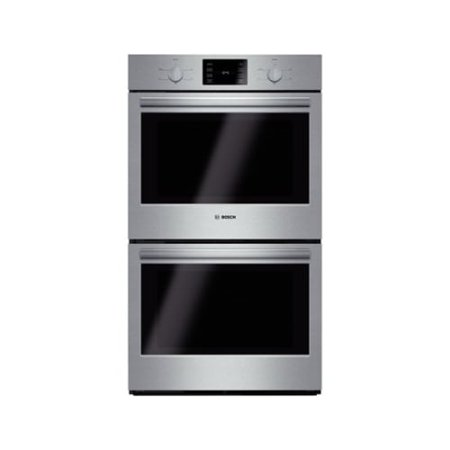 HBL5551UC 500 Series 30 Wide Double Wall Oven with Heavy Duty Knobs  Self-Clean  Large Capacity  8 Recessed Broil Elements  and Star-K Certification in Stainless Steelu0022