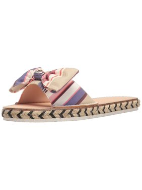 5bb0f93e1243 Product Image Kate Spade New York Womens Idalah Canvas Open Toe Beach  Espadrille Sandals