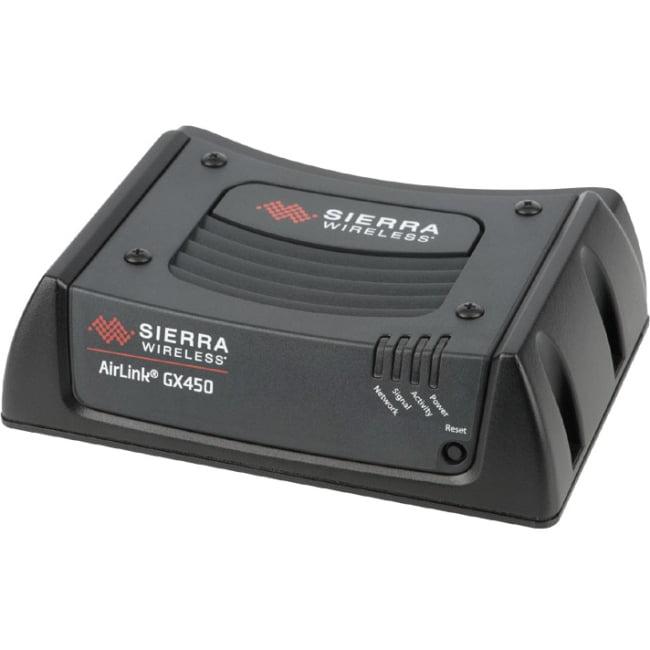 Sierra Wireless AirLink GX450 Rugged Mobile 4G Gateway, Multi-Ethernet (Verizon)