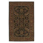 Surya Ancient Treasures Brown & Black Area Rug