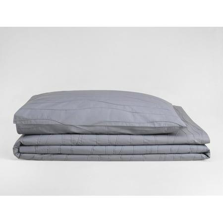 Calvin Klein Double Stitched Waves European Sham Mussel Calvin Klein Bed Pillow