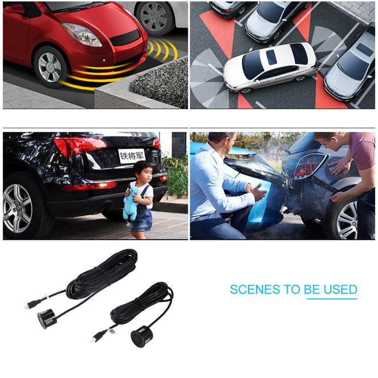Car Auto Wireless Intelligent Reverse Backup Car Parking Radar Monitor Detector System