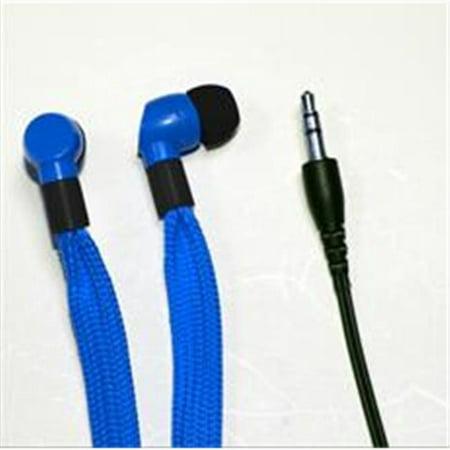 QFX QUANTUM H107BLUE H107BLUE- SHOELACE EARPHONES