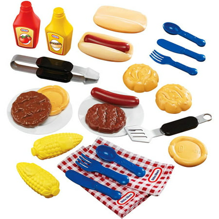 Little Tikes Backyard Barbeque  26 Piece Grillin Goodies