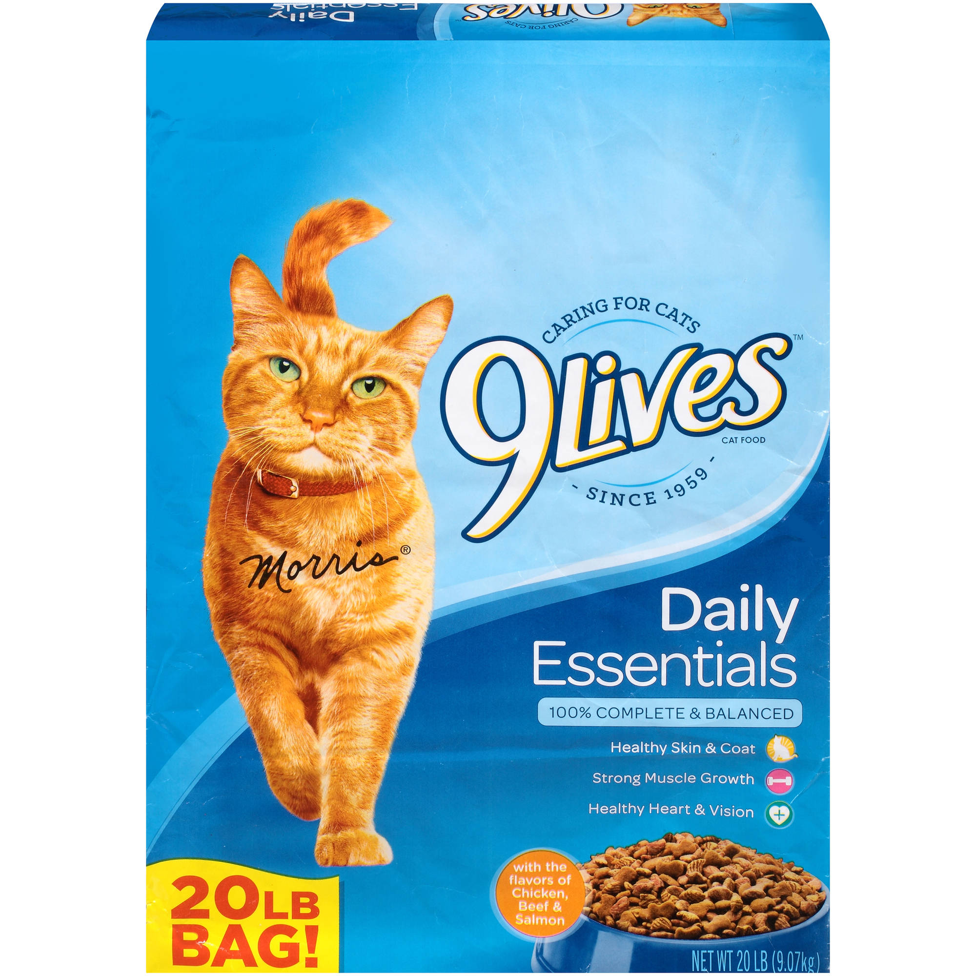 Image of 9 Lives Daily Essentials Dry Cat Food, 20 lb