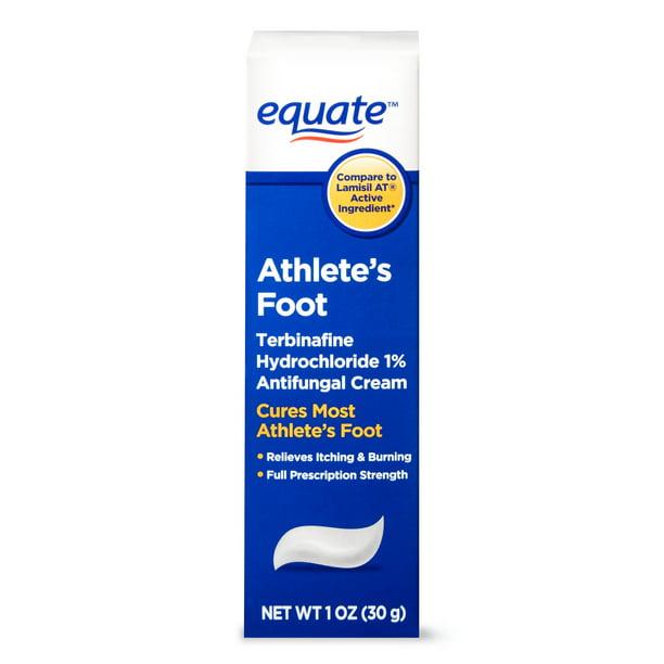 Equate Athlete's Foot Antifungal Cream, 1 oz