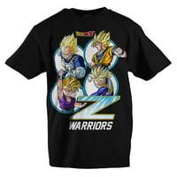 Dragon Ball Z Boys Shirt Boys Black Z Warriors Dragon Ball Z Clothing-X-Large