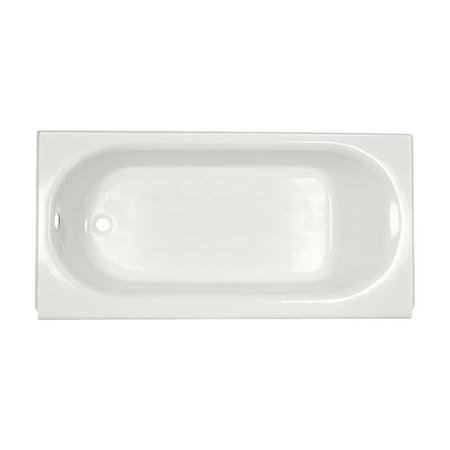 American Standard Princeton 5 ft Americast Left Hand Drain Bathtub in White