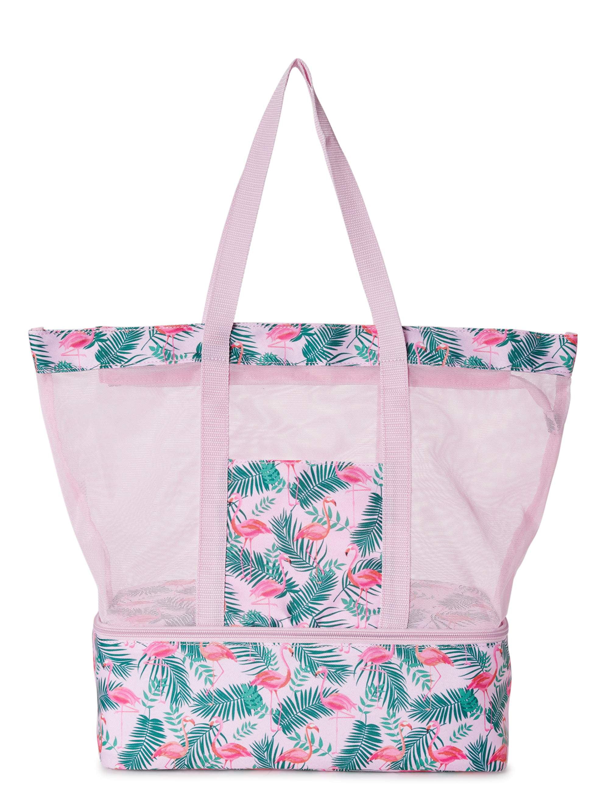 Mesh tote bag  White  Black  Market bag  Summer bag  Vintage Bag  Summer Mesh Bag