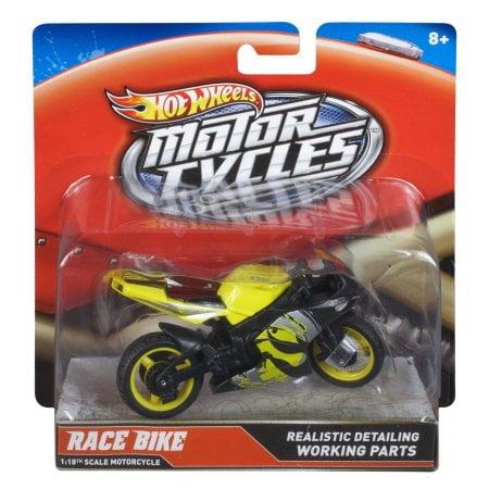 Hot Wheels 1:18 Scale Steer Power Motorcycle, Turbobike