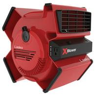 Lasko X-Blower Multi-Position Utility Blower Fan, Model X12900, Red