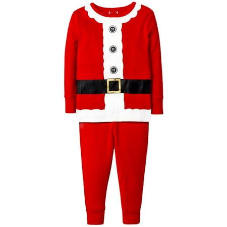 Holiday Boys 2-Piece Red Santa Claus Christmas Sleepwear Pajama - Santa Pj