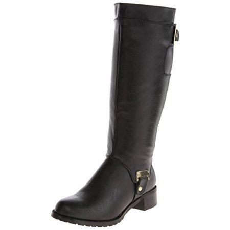 Bella Vita Womens Anya II Plus Wide Calf Faux Leather Riding Boots