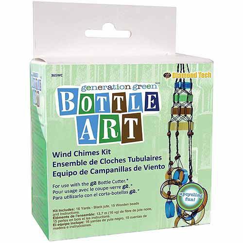 Diamond Tech Crafts Bottle Art Kit, Windchime