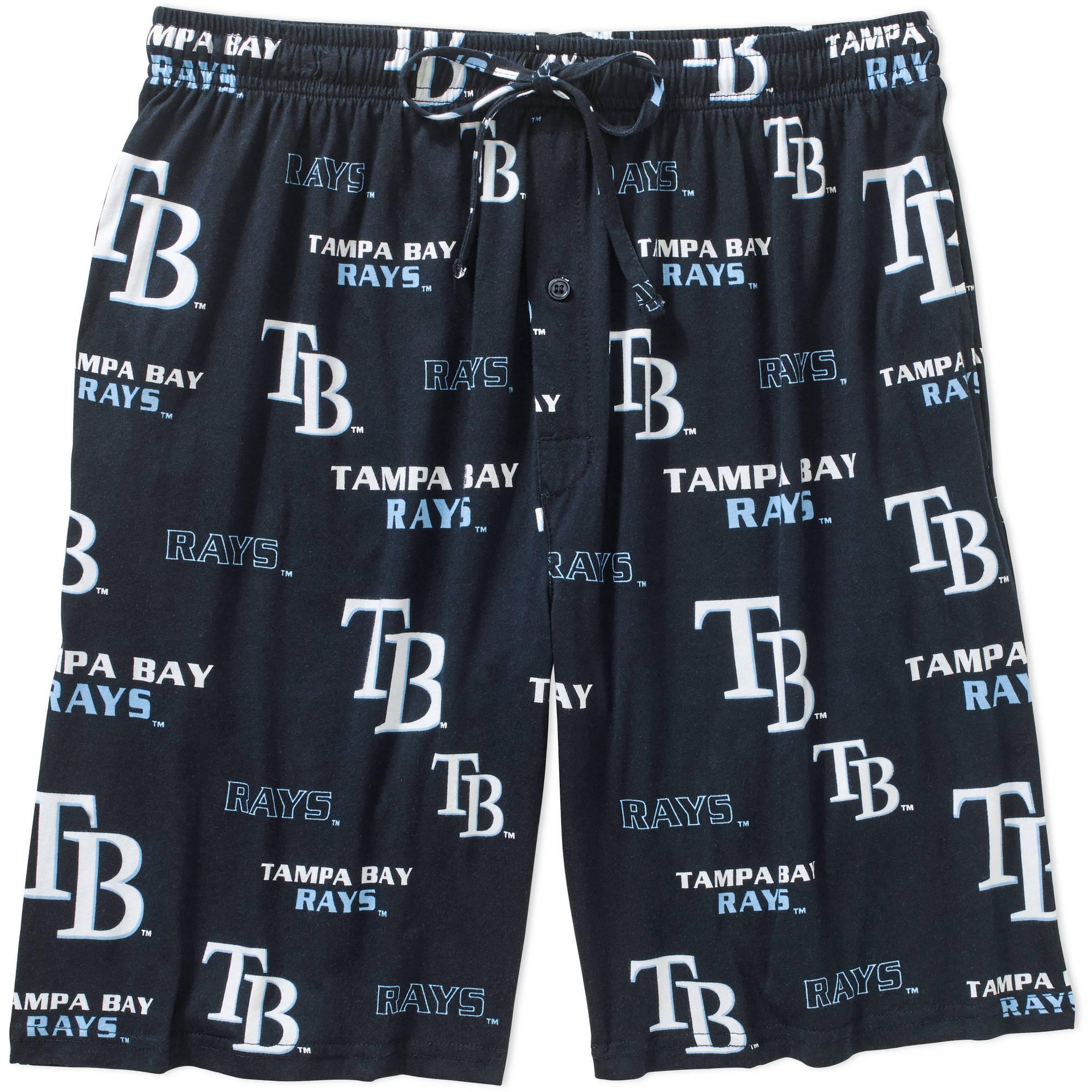 MLB Big Mens Tampa Bay Rays Knit Jam Short, 2XL WQL-0601