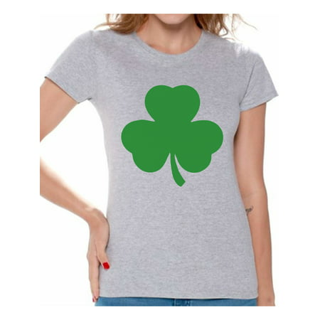 Awkward Styles Irish Clover Shirt Womens St. Patricks Day Shirt Irish Pride St Patricks Day Tee Irish Gifts for Her St Paddy's Day Outfit Lucky Shamrock Shirts for Women Irish American Shamrock Shirt - Cute Girl St Patricks Day Outfits
