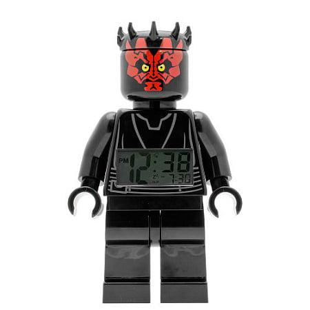 LEGO 9005596 Star Wars Darth Maul Minifigure Clock ()